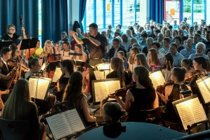 Jugendsinfonieorchester im Sommerkonzert »Magical Moments« 2018